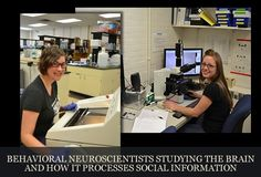 Behavioral Neuroscientists studying the brain and how it processes social information.