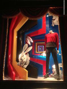 DLT Circus Magic Fashion windows 2013 Summer, St. Petersburg » Retail Design Blog