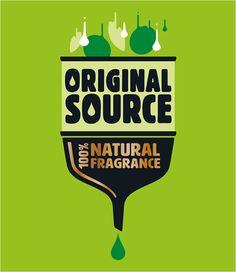 Bulletproof Gives 'Original Source' Shower Gel New Identity - Logo Designer