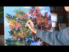 Peindre Couple Plage Ile Tropicale Complet Demonstration D'artiste Peintre Coucher Du Soleil - YouTube