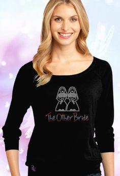 The Other Bride Rhinestone T Shirt Price: $21.99
