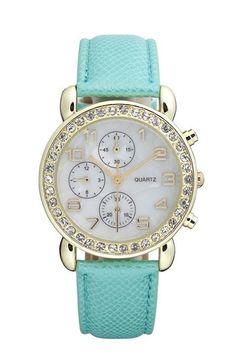 Tiffany Blue watch From Nordstrom only $18. LOVE THIS