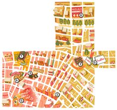 Brussels Airlines maps new! - Antoine Corbineau • Illustration & Design