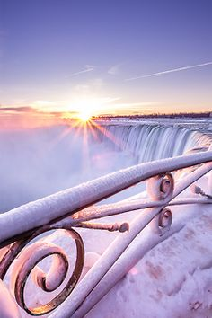 Niagara Falls,  the best vacation ever!!  I would love to see it in the winter
