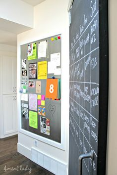 I've been busy at work with the Mr. making and installing a new DIY magnetic message board. This wall off our kitchen has sort of become our make shift message center.  We end up taping any important notes, forms, invites, etc. right here so naturally it was the perfect place for a message center.   I …
