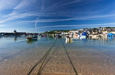 St Ives Harbour - Summer morning