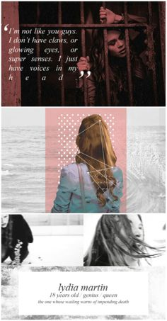 Lydia Martin #teenwolf tumblr #banshee