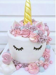 Resultado de imagem para bolo fake unicornio