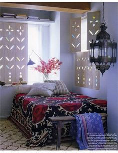 lantern. feel like i could open those killer shades and look out over a bustling marrakech bazaar...