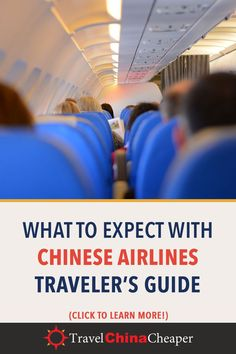 There may be many aspects of flying in China that you'll prefer over flying elsewhere in the world, including the USA. This guide details some perks of flying on Chinese airlines, as well as some essential China flying tips. China Travel Guide, Asia Travel, Travel Tips, Moving To China, Frequent Flyer Program, Travel Insurance Policy, Airline Travel, Work Travel, China China