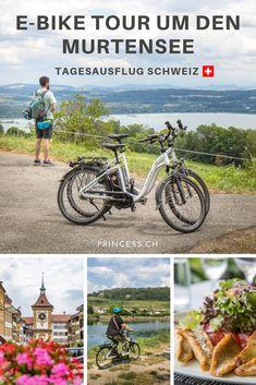 Ausflugstipp: Murtensee mit dem E-Bike Reisen In Europa, Outdoor, Skiing, Old Town, Outdoors, Outdoor Living, Garden
