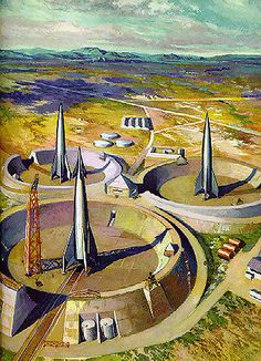 Remembering my childhood with fond memories of space, space ships, robots, and all things science fiction. Retro Rocket, Classic Sci Fi, Vintage Space, Science Fiction Art, Pulp Fiction, Sci Fi Books, Fantasy Illustration, Space Travel, Sci Fi Fantasy