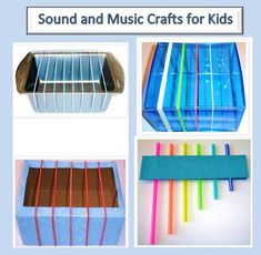 Easy to make instruments that are simple enough for children to make themselves and that still leave room for creativity. These can be made with different materials to change the sounds and appearances but the ideas behind each instrument is different which I really like.