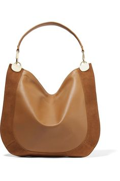 Tan leather and camel suede (Calf) Zip fastening along top Weighs approximately 1.5lbs/ 0.7kg Designer color: Whisky