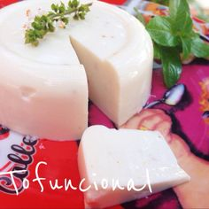 queijo de macadâmia ou amendoas ou castanha de caju ou do pará ou de inhame