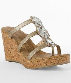 'BKE Sole Star Drop Sandal'  #buckle #shoes #wedges  www.buckle.com