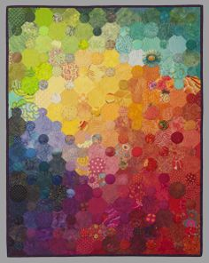 Summer Sprinkles by Timna Tarr. A non-traditional arrangement of a rainbow of colors
