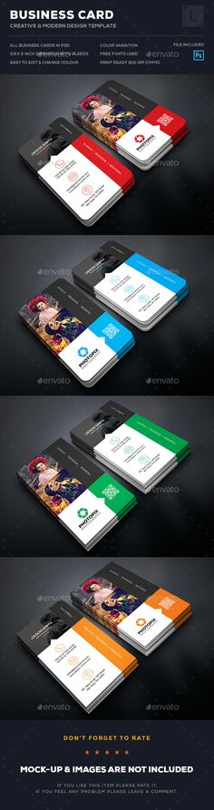 Creative Photography Business Card - #Business Cards Print Templates Download here: https://graphicriver.net/item/creative-photography-business-card/17292397?ref=Classicdesignp
