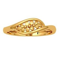 JewelOne Yellow Gold The Nerina Ring Gold Rings Jewelry, Gold Jewelry Simple, Jewelry Design Earrings, Gold Earrings Designs, Gold Bracelets, Ankle Bracelets, Gold Chain Design, Gold Ring Designs, Gold Bangles Design