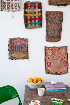 Colorful bohemian style: global details, tribal Indian, Moroccan, gypsy, hippie