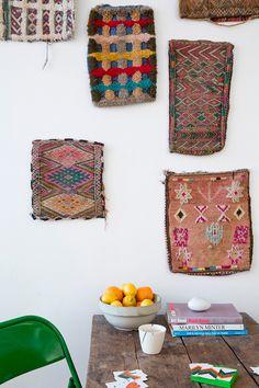 sfgirlbybay / bohemian modern style from a san francisco girl Textiles, Interior Flat, Hippie Stil, San Francisco Girls, Deco Boheme, Deco Originale, Sweet Home, Bohemian House, Decoration