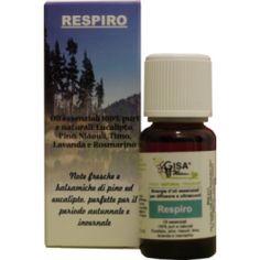 Respiro - Sinergia Olio essenziale per diffusori di aromi ad ultrasuoni - Gisa Wellness