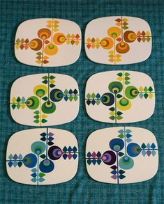 Worcester Ware table mats