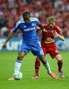 Drogba = AMAZING: he scored the wining pk of the champions legue final <3
