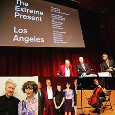 Photos from #theextremepresent with #ForYourArt are now available online at http://ift.tt/1hmjqMZ #WeHoArts #shumonbasar #hansulrichobrist #mirandajuly #davidlynch #amaliaulman #patrickstop #wehotv #booksoup