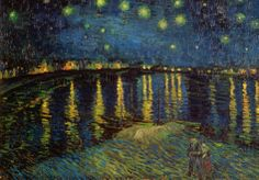 Starry Night Over the Rhone, c.1888 Posters by Vincent van Gogh at AllPosters.com