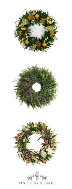 Who says wreaths are just for the holidays? Dried and faux floral wreaths are an… Diy Craft Projects, Fun Crafts, Lavender Wreath, Summer Door Wreaths, Floral Wreaths, How To Make Wreaths, Cool Gifts, Fall Decor, Sewing Crafts