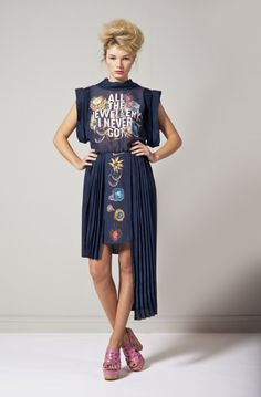 haha i need this dress,   natalie b coleman via design for mankind