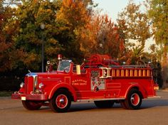 1951 Mack Fire Engine