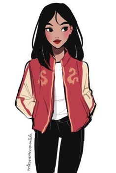 Anime Girls With Black Hair