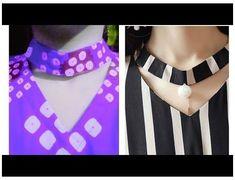 Chudidhar Neck Designs, Neck Designs For Suits, Sleeves Designs For Dresses, Stylish Dress Designs, Blouse Neck Designs, Collar Designs, Collar Kurti Design, Kurti Sleeves Design, Kurta Neck Design