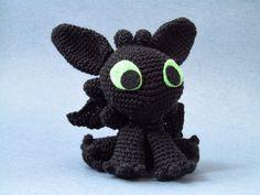 Toothless - Cómo entrenar a tu dragón | Tezukuri