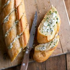 Brandied Blue Cheese Bread