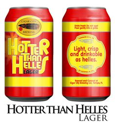 Cigar City Brewing Hotter Than Helles