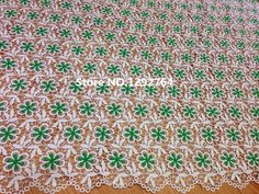 Free Shipping! TS903(5yards/lot) Wholesale price  two colors combination unique Cupion/ Guipure Lace beautifully finished fabric
