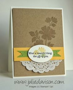 Stampin' Up! Gifts of Kindness card for Stamp of the Month Club by Julie Davison http://juliedavison.blogspot.com/2013/12/stamp-of-month-club-gifts-of-kindness.html