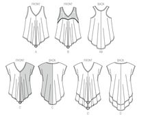 Pattern Reviews> McCall's> 7125 (MISSES' TOPS)