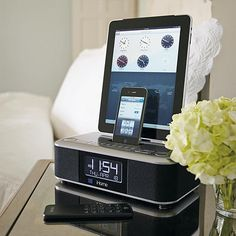iHome Triple Dock Alarm Clock - compatible with iphone 5