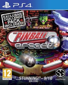 Pinball Arcade Sony Playstation 4 PS4 Game UK ** For more information, visit image link.