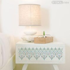Adoor Indian Border stencil from The Stencil Studio Ltd - Size XS