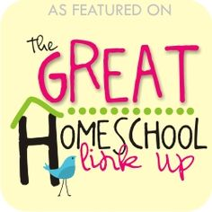 Here you can find out about linky parties that are happening in the homeschool community.
