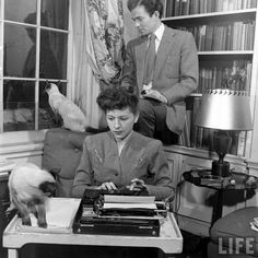 James Mason and his wife Patricia.