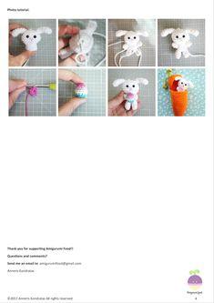 Mesmerizing Crochet an Amigurumi Rabbit Ideas. Lovely Crochet an Amigurumi Rabbit Ideas. Easter Bunny Crochet Pattern, Crochet Frog, Diy Crochet, Crochet Dolls, Crochet Handbags, Amigurumi Patterns, Crochet Animals, Crochet Projects, Creations