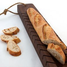 33% OFF   9am 3/25/13 - 9am 4/1/13   Beautifully handcrafted from walnut, by a talented woodworking artisan; highly unique and made specifically for cutting breads and baguettes
