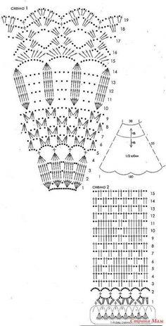 2201 mejores imágenes de Patrones en tejido crochet fotos