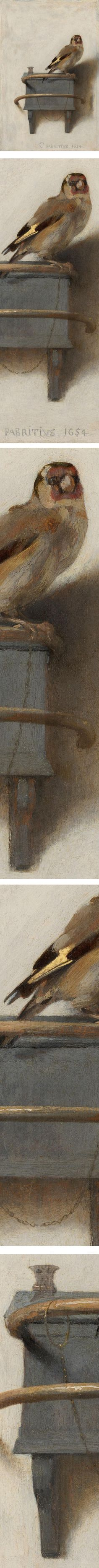 Eye Candy for Today: Carel Fabritius The Goldfinch